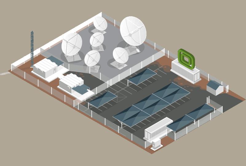 Teraco Teleport, Isando