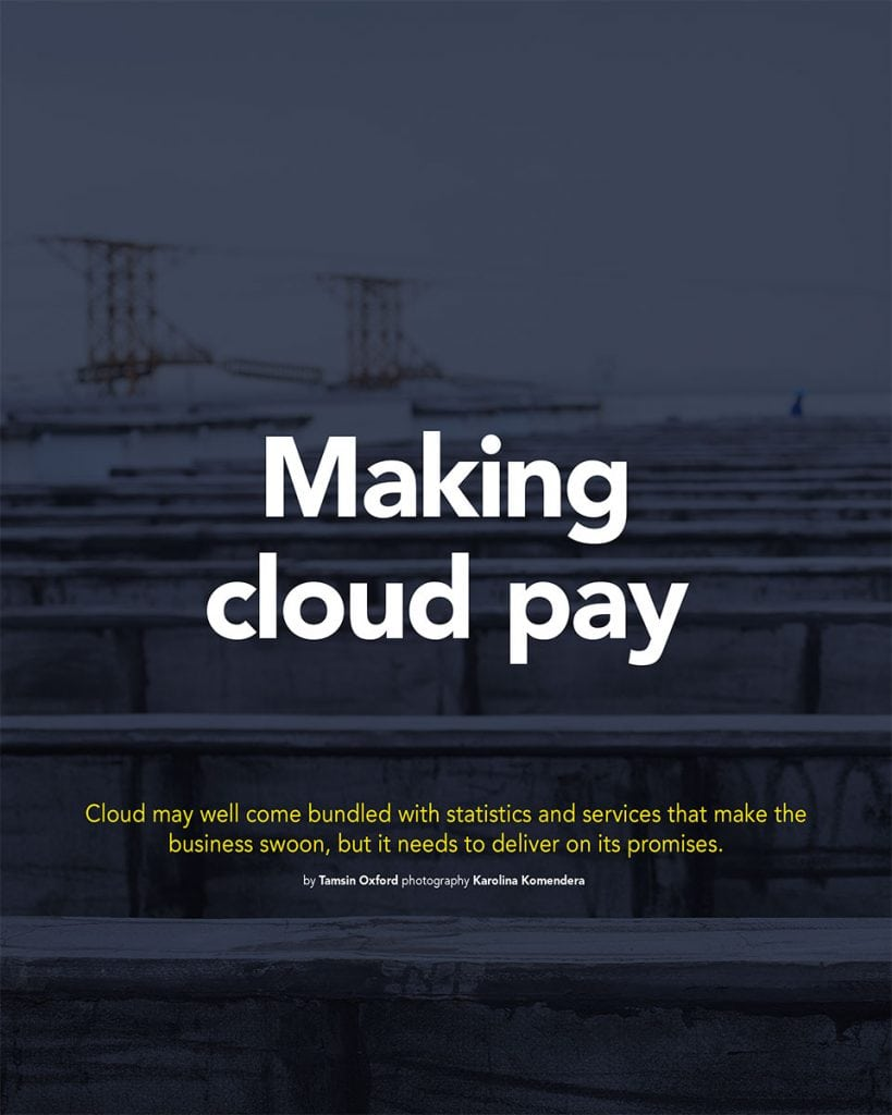 Making Cloud Pay