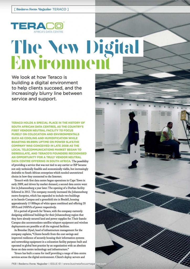 The New Digital Environment