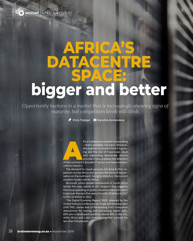 Africa's Datacentre Space: Bigger and Better