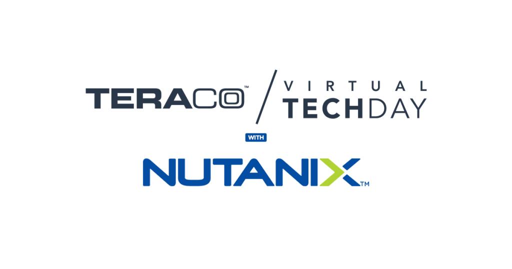 Teraco Virtual Tech Day with Nutanix